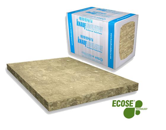 Panel de lana mineral de roca.fw